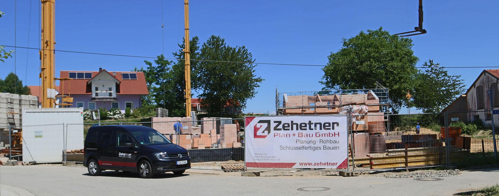 Baustelle von der Zehetner Plan + Bau GmbH aus Inning am Holz