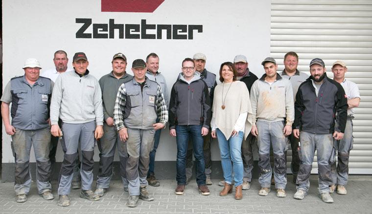 Team der Zehetner Plan und Bau GmbH in Ottering