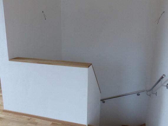 Treppenhaus in Neubau