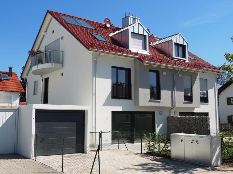 Doppelhaus in Pliening bei München - Projekt von Zehetner Plan + Bau