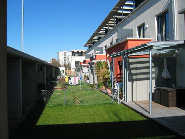 Einheimischenmodell bei München mit Terrasse und Garten