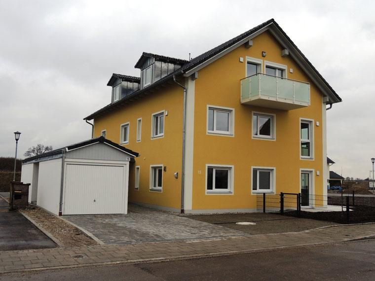 Mehrfamilienhaus in Aschheim - gebaut von der Zehetner Plan + Bau GmbH