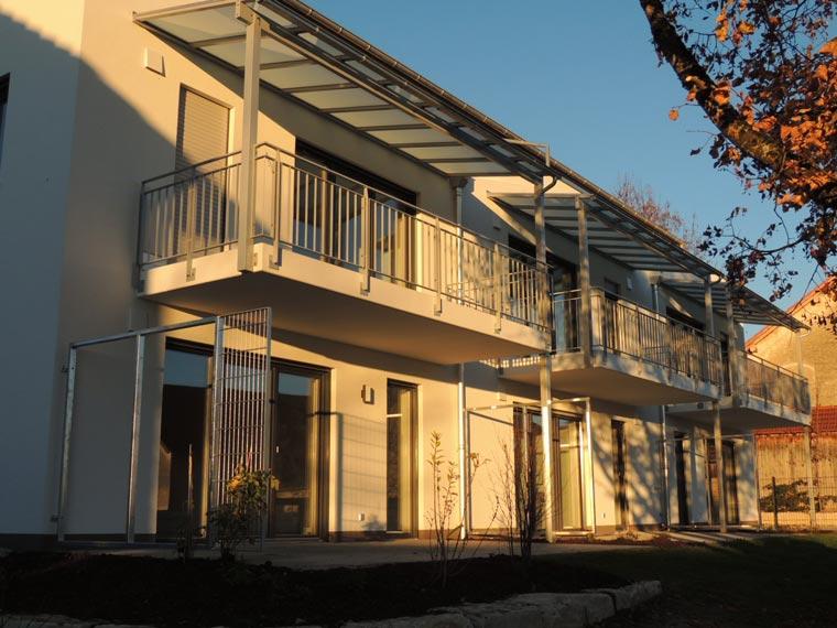 Mehrfamilienhaus in Inning am Haus bei der Zehetner Plan und Bau GmbH