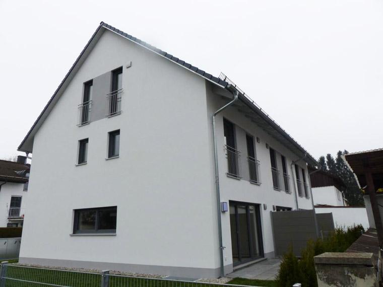 Großes modernes Haus in München von der Zehetner Plan + Bau GmbH