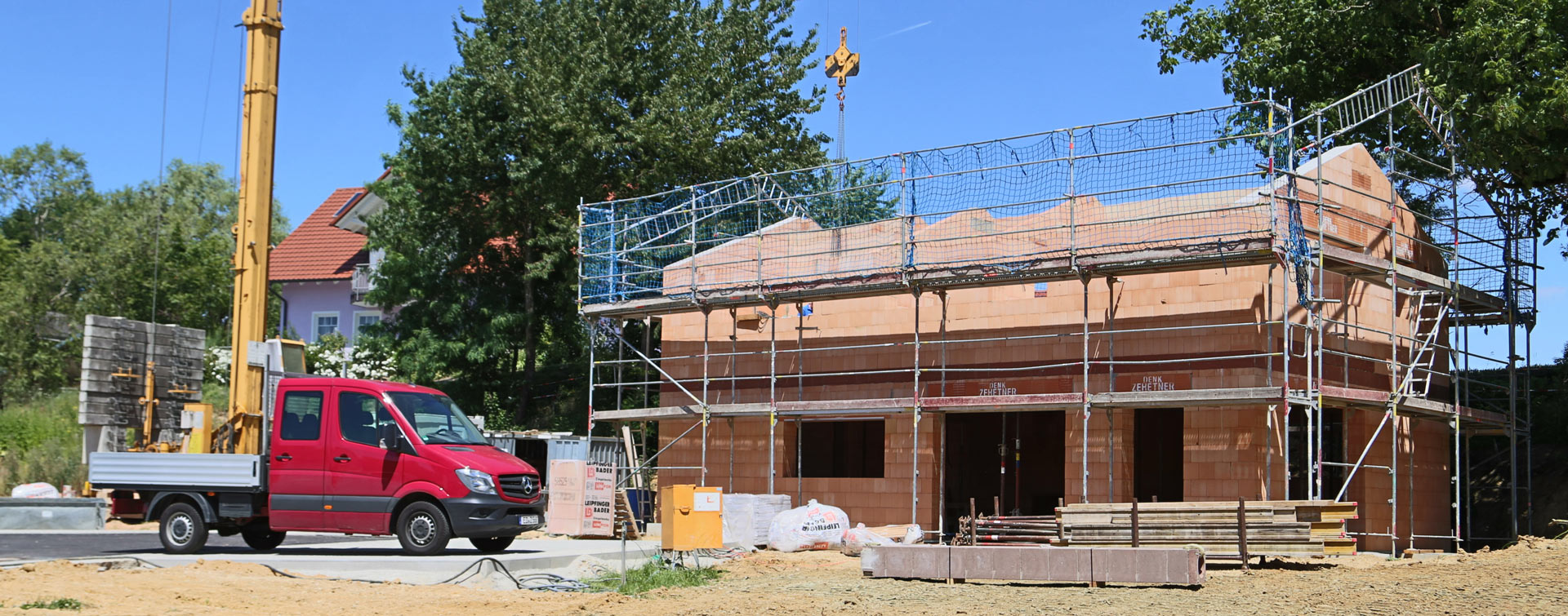 Planung und Bau von Häusern bei der Zehetner GmbH