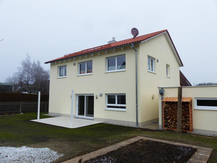 Neubau von Zweifamilienhaus bei München