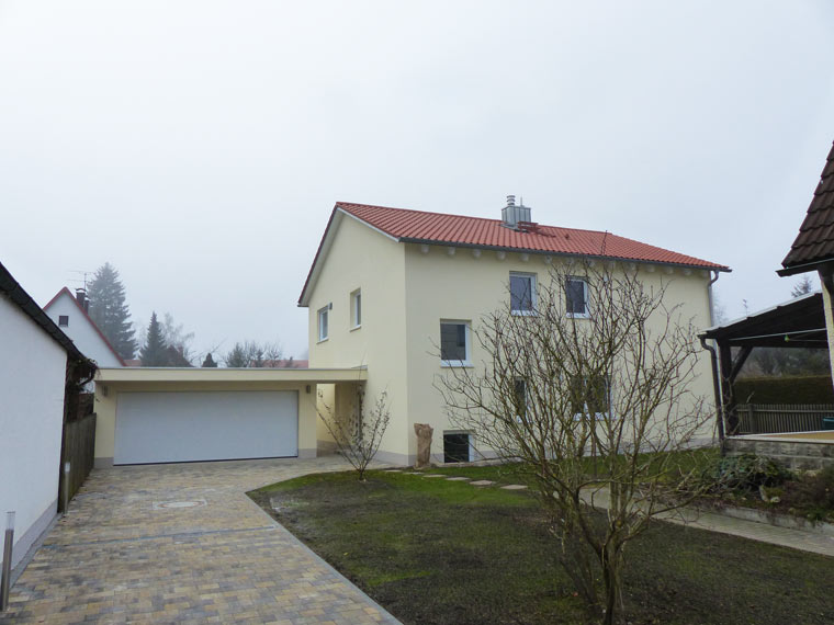 Neues Wohnhaus für zwei Familien in Gronsdorf